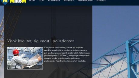 Izrada web prezentacije MikoM