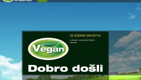 Internet sajt Vegan Novi Sad