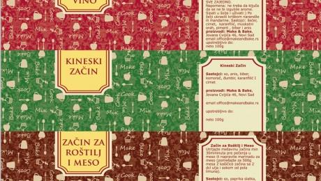 Etiketa za ambalažu Novi Sad