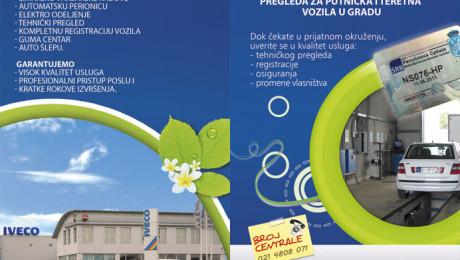 Flajer General Auto Novi Sad