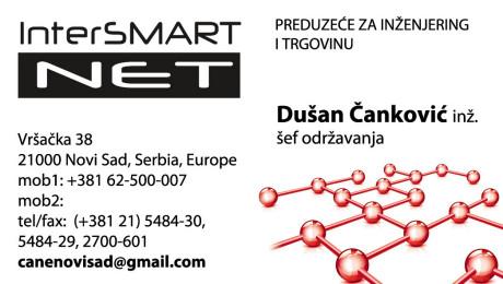 Dizajn vizitkarte Novi Sad