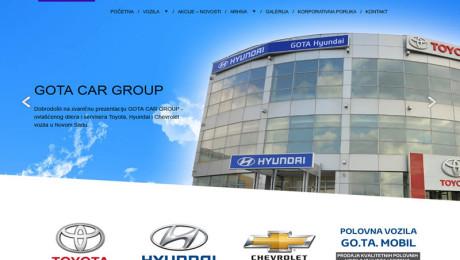Korporativni sajt Gota