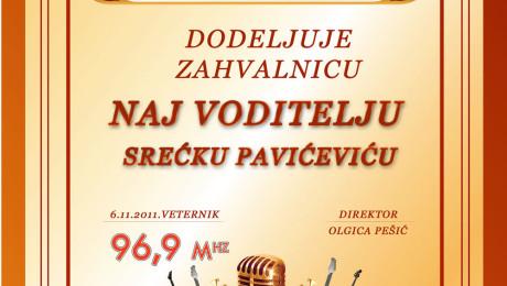 Izrada zahvalnice Novi Sad