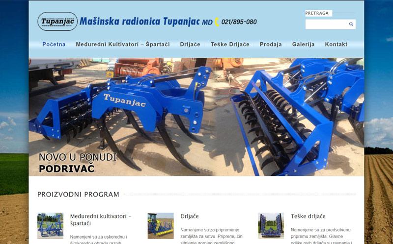 tupanjac-novi-sad-sajt izrada