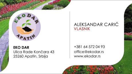 Vizit karte Subotica