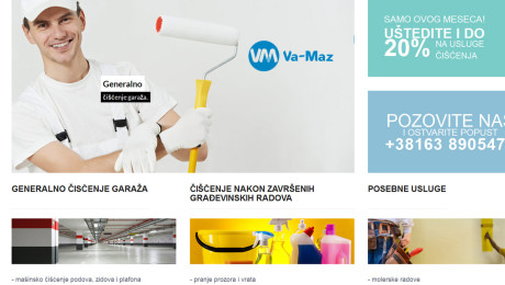 Izrada sajta VA-MAZ Novi Sad