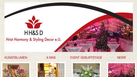 WordPress sajt HS-Decor Novi Sad