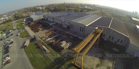Slikanje iz vazduha Novi Sad