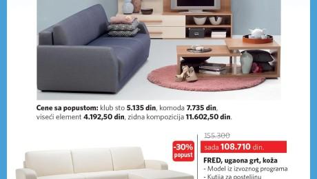 Dizajn oglasa na časopis Blic