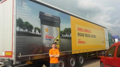 Brendiranje vozila – cirada kamionska