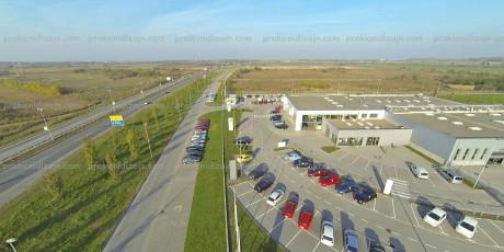 Fotografije iz vazduha Novi Sad